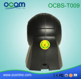 Lecteur de codes barres omnidirectionnel de bureau pour le supermarché du scanner de code à barres