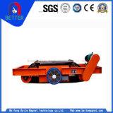 Separatore elettromagnetico del ferro di Suspention del fornitore della Cina per estrazione mineraria/pianta cemento/del carbone