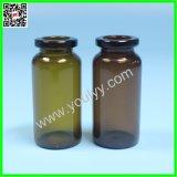 Transparente und bernsteinfarbige Ampullen und Phiolen