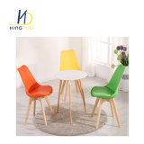 Replica Modern Leather Cushion Dining Room PP Plastic Tulip Flesh