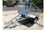 8X5 Galvanised Box Trailer met Tarps