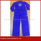 Workwear longo da segurança da luva da parte dianteira do fecho de correr do poliéster 35%Cotton de 65% (W298)