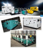 Trifásico Weichai 50Hz Silent Diesel Generator 10kVA - 150kVA