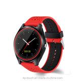Hot vendre Smart montre téléphone portable Bluetooth avec l'écran Ronde W9