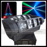 8PCS*10W RGBW 4in1 СИД Mini Spider Beam Moving Head Light