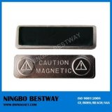 Supporti magnetici del distintivo di nome N40