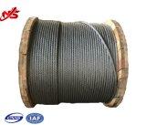 Corda galvanizzata del filo di acciaio 6X24+7FC per il rimorchiatore