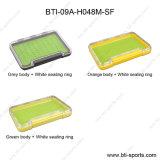 다른 실리콘이 3개의 색깔 최고 거품이 이는 도매 다중 크기는 100% 방수 낚시 도구 제물 낚시 상자 09A-H048-Sf를 체중을 줄인다