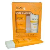 Creme de Sunblock do cuidado de pele do zelo