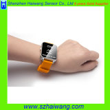 身につけられる反失われたアラームユニバーサルスマートな腕時計の個人的な機密保護アラームリスト・ストラップSA800