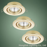 광동 Manufacturer의 금관 악기 Adjustable GU10 MR16 Recessed Fixture Downlight