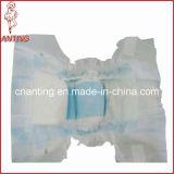 Le coton feuille arrière avec PP Bande de couches pour bébé
