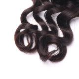 Trama brasileira do cabelo humano do cabelo 100% do Virgin
