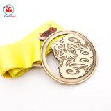 工場直売の金属のジャングルによって実行される特別なメダル