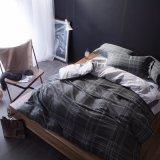 Tela di base stampata lusso dell'insieme di camera da letto del tessuto di cotone