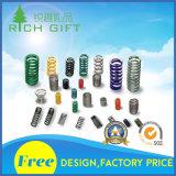 Kundenspezifische Klavier-Draht-zylinderförmige zylindrische Schraubendruckfeder des Nickels überzogen