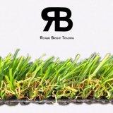 20-35mm anti-UV sintético del paisaje de hierba artificial para decorar el jardín y hogar