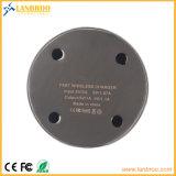 Snelle van het metaal het Uiterst dunne Draadloze/snel Stootkussen van de Lader voor Mobiles Hoogste OEM China Fabriek