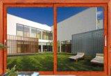 66 Series 2 Vias Alumnium Ligas de vidro corrediço de porta de vidro na China