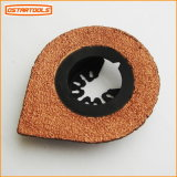 Carte de carbure en forme de larme abrasif de broyage la lame de scie