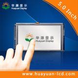 Индикация дюйма TFT LCD панели 5 экрана касания