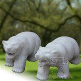 Un par de osos estatua la escultura, Escultura de animales