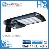 Baugruppe konzipierte verzeichnetes LED Straßenlaterne120W UL-Dlc mit CREE-Fahrwerk-Chips und Meanwell Fahrer