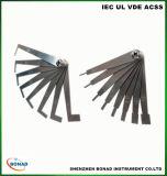 Creepage van het Roestvrij staal van CEI 60065 Ck1 Ck2 de Kaart van de Test van de Afstand met de Maat van de Misstap van de Precisie
