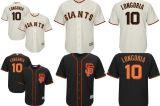 Giocatore basso freddo Jersey dei San Francisco Giants Evan Longoria dei capretti delle donne degli uomini