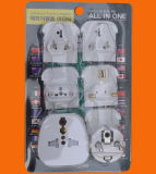 World Travel Adaptador con material ABS
