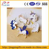 Personalizar Venta caliente lindo Unicornio insignia de forma creativa