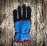 PVC поставил точки сад перчатки Перчатк-Работает Перчатк-Промышленное Перчатк-Трудится Перчатк-Дешевая перчатка