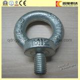 Perno de argolla de elevación y Eyenut del anillo del negro del ancla del acero de carbón