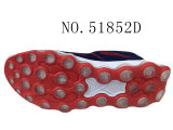 Quatre couleurs pilotent des chaussures d'hommes de Knit