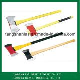 Ascia del acciaio al carbonio dell'utensile manuale del hardware dell'ascia con la maniglia