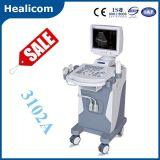Equipement médical Scanner à ultrasons à chariot entièrement numérique (Hbw-10)