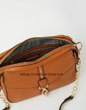 PUのハンドバッグをステッチする高品質のブラウンカラー十字の遺体袋