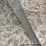 Super doux velours tissus décoratifs burn-out pour la décoration d'accueil