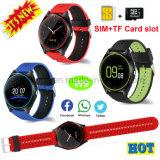 Le téléphone intelligent mobile de montre de Bluetooth le plus neuf pour le cadeau W9 de promotion