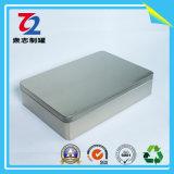 Boîtes en fer blanc rectangulaires de déduction concise