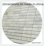 Naturaleza Blanco Piedra de mármol del mosaico de casa de materiales de construcción