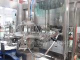Завершите завод воды разливая по бутылкам заполняя упаковывая