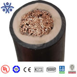 UL2806 condutores de cobre estanhado isolamento EPR CPE bainha do cabo de borracha 600V 2/0AWG 4/0AWG 2 AWG 4 AWG