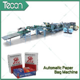 Saco de papel movido a motor automático cheio avançado que faz a máquina