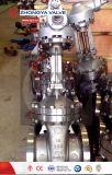 """10"""" 300 lb CF3 pega de aço inoxidável válvula gaveta"""