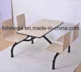 Design Siamesed moderno refeitório tabela definida para o comércio por grosso (FOH-NCP16)