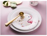 Plat populaire le tiroir à disque céramique Flamingo plaque ronde Props de tir