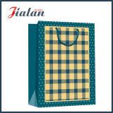 Bolso de papel impreso insignia hecho barato del regalo de las ventas al por mayor con la cuerda