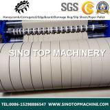 Rollo de papel totalmente automática máquina rebobinadora cortadora longitudinal