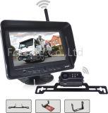 Sistema de cámara de retroceso de la seguridad automotriz con monitor LCD de diseño exclusivo.